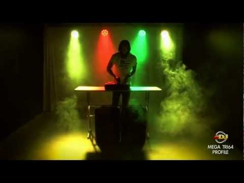 American DJ Mega Tri64 Profile Tri-Color LED Par 64 Compact Lighting Fixture Overview   Full Compass