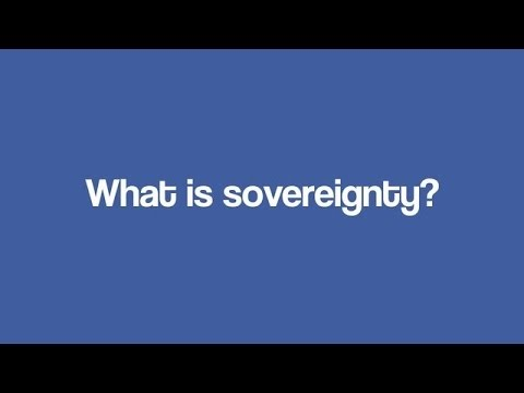 What is Sovereignty?