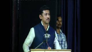 Col Rajyavardhan Rathore, Union Minister, Govt. of India