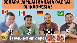 Download Video SAMPE NGANGA!! 😱😱SEBERAPA TAU MEREKA TENTANG INDONESIA??? MP3 3GP MP4