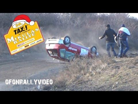 20. Taxi4 Mikulás Rallye 2016 Crash & Max Attack - ofonrallyvideo