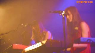 AU REVOIR SIMONE - All or nothing (French version) / Concert INTIMEPOP 20-2