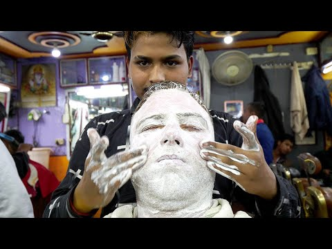The Ultimate Indian Haircut Experience 2.0 - Face & Back Massage | Shillong, Meghalaya, India
