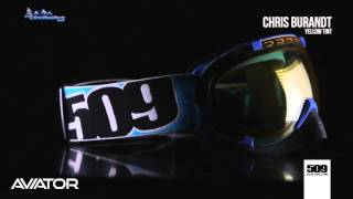 10. 509 - Chris Burandt Aviator Snowmobile Goggle