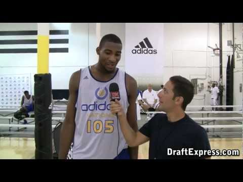 Andre Drummond DraftExpress 2011 adidas Nations Interview & Practice Footage