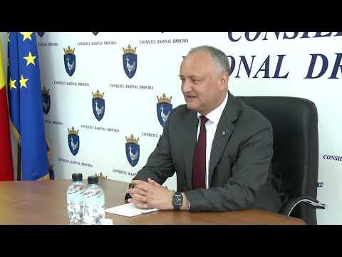Șeful statului întreprinde o vizită de lucru în raioanele Drochia și Glodeni