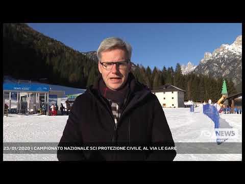 23/01/2020   CAMPIONATO NAZIONALE SCI PROTEZIONE CIVILE, AL VIA LE GARE