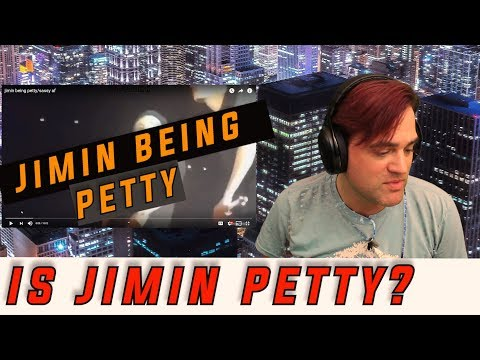 Jimin Being Petty Reaction // Ellis Reacts #841 // Sassy Jimin from BTS showing a different side.
