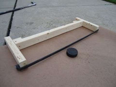 Make Your Own Hockey Rebounder