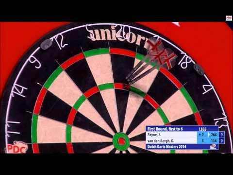 van den Bergh vs Payne Last Leg - Dutch Darts Masters 2014