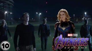 Top 10 Easter Eggs You Missed In The Avengers: Endgame Teaser