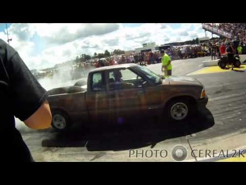 Nopi Nationals 2013 day 2 Burn out clips to the end.  LS vs Supercharged VQ burnout. Nopi 2013