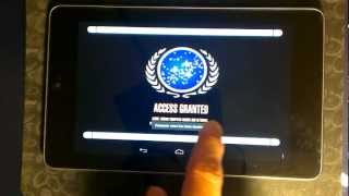 LCARS Shipyard Tablet YouTube video