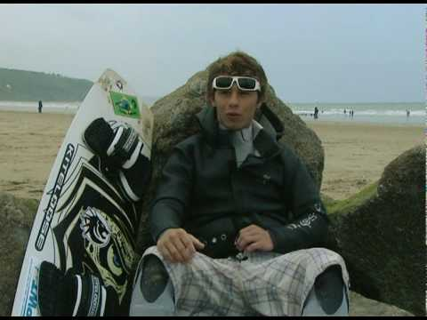 hugo guias kitesurf video -