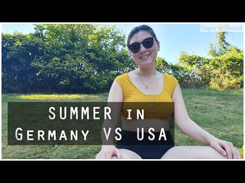 Living in Germany - Summer in Germany vs. USA