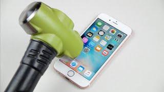 Video Rose Gold iPhone 6S Hammer & Knife Test! MP3, 3GP, MP4, WEBM, AVI, FLV Desember 2018