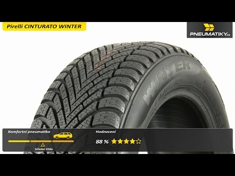 Youtube Pirelli CINTURATO WINTER 185/55 R15 82 T Zimní