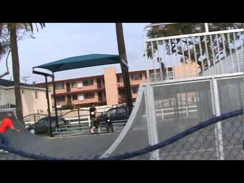 GHETTO SKATE PARK ON 14TH AND PACIFIC AVENUE IN LONG BEACH