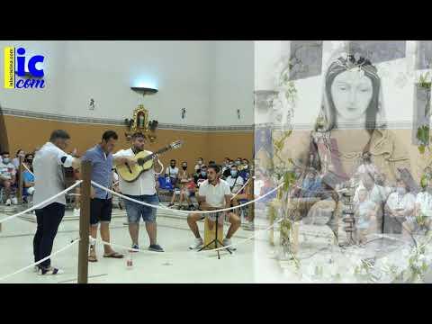 JUAN ÁLVAREZ canta a la Vírgen del Mar de Punta del Caimán en su Festividad