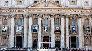 SANTA MISA PRESIDIDA POR EL PAPA FRANCISCO.  Canonizaciones y rezo del Ángelus 14-10-2018