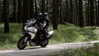 1. 2013 Ducati Multistrada 1200 S Touring Motorcycle Review
