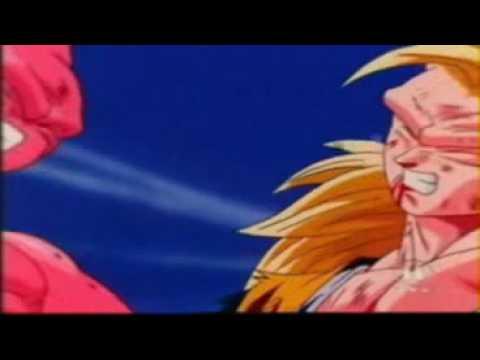 DBZ Goku,Vegeta vs Kid Boo