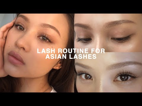 LASH ROUTINE FOR STRAIGHT ASIAN LASHES (CURLED ALL DAY)