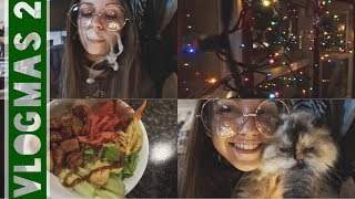 GETTING IN THE HOLIDAY SPIRIT! // Vlogmas Day Two (12.3.17) by Silenced Hippie