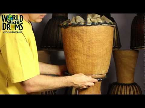 Djembe Repair & Rehead – Relacing or Installing Ropes on Djembe Drum