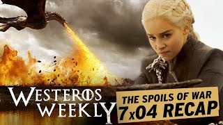 More from Entertainment Tonight: http://bit.ly/1xTQtvw Daenerys is taking The Queen of Thorns advice, and making a dragon move by unleashing Drogon on the ...
