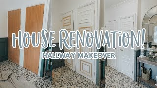 HOUSE RENOVATION HALLWAY MAKEOVER   KATE MURNANE