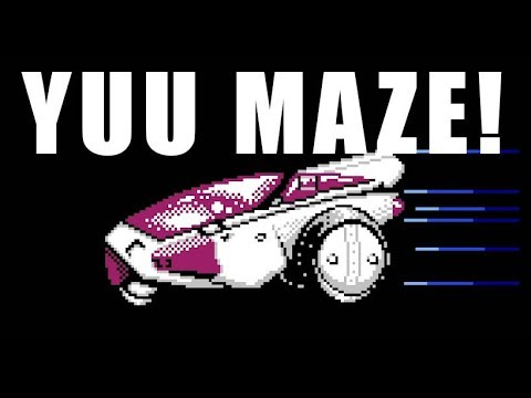 Classic Game Room - YUU MAZE review for Famicom Disk System