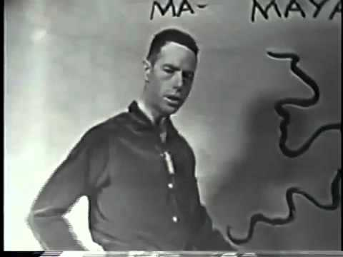 "Alan Watts Video: ""Things and Think"" (Live Original TV Series)"