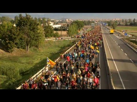 Βαρκελώνη: «Τσουνάμι Ελευθερίας»
