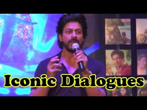 Shah Rukh Khan RECREATES His Iconic Dialogues!