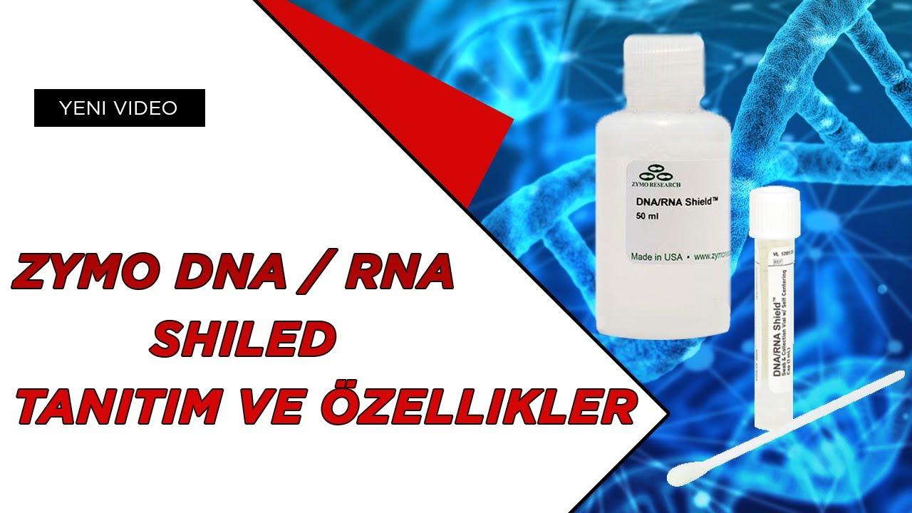 ZYMO Research DNA / RNA SHIELD Tanıtım ve Özellikleri