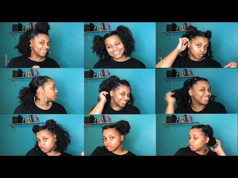 9 EASY CURLY HAIRSTYLES(NATURAL HAIR) Lovely Nunu
