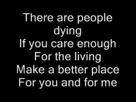 Heal the World - Michael Jackson (lyrics)