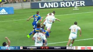 Stormers v Chiefs Rd.7 Super Rugby Video Highlights 2017