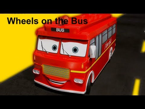 Bus - Wheels On The Bus - http://www.muffinsongs.com (more songs) The wheels on the bus go round and round, Round and round, Round and round. The wheels on the bus...