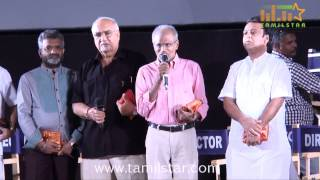 KR and Gnanavel Raja at Kathai Thiraikathai Vasanam Iyakam Audio Launch
