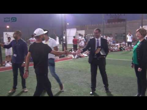 مصر العربية | تكريم لاعبو الإنتاج الحربي في احتفالية يوم اليتيم بأكاديمية ليدر
