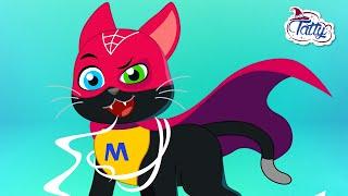 Superpoderes de Tatty y Misifu 🤡 Dibujos Animados en Español
