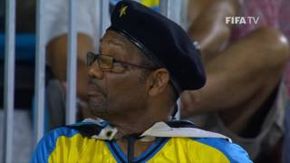 Watch group stage highlights of the match between Senegal and Bahamas from the FIFA Beach Soccer World Cup in the Bahamas.