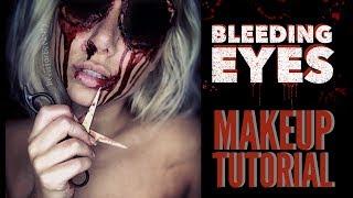 missing eyes sfx halloween makeup tutorial | BeeisforBeeauty