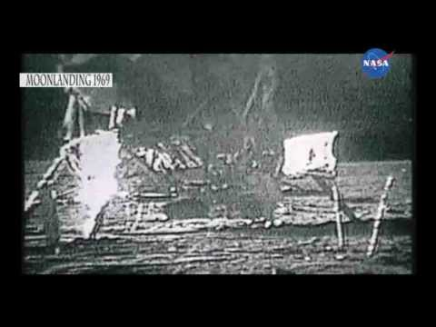 1969 - 40 years on, previously unseen footage of the first Moon Landing on Sunday July the 20th 1969. The United States space agency NASA achieved the first manned ...