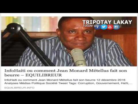 Tripotay lakay: Jean Monard Reponn Equilibreur sou Atik de koripsyon yo ekri sou li a