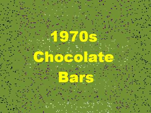 1970s - Typical Chocolate Bars eaten by children in the 1970s.