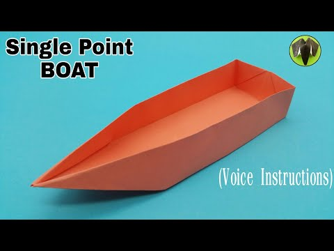 Single Point Floating Boat With Voice Instructions DIY