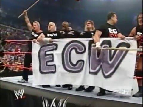 ECW invade RAW 2005 - ECW VS WWE